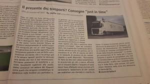 Tir Italia Srl Il Sole 24 ore articolo del 27.11.2017